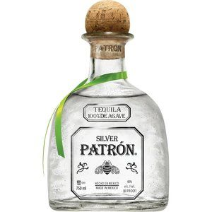 Patron Tequila Empty Bottle 750 ml, Lot of 2